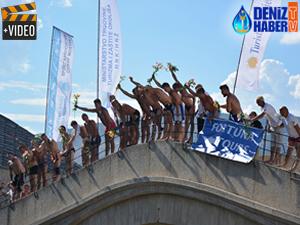 Mostar Köprüsü atlama yarışları 451. kez yapıldı