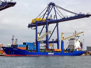 Arkas Denizcilik, Fas limanları arasında kabotaj servisini başladı