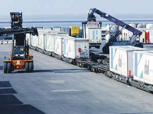 Ekol, Türkiye bağlantılı olmayan ilk tren hattını açtı