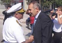 Donanma Komutanı veda ziyaretinde