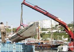 Antalya'da sahipsiz tekneler kaldırıldı