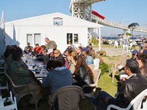 Sahil Güvenlik'ten Aliağa balıkçılarına eğitim
