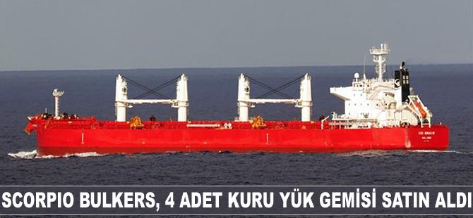 Scorpio Bulkers, 4 adet kuru yük gemisi satın aldı