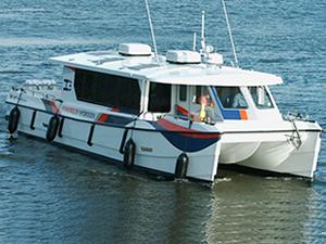 Compagnie Maritime Belge, hidrojen yakıtlı katamaranını teslim aldı