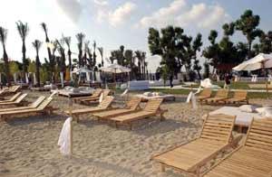 İkinci plaj 'samba' ile açıldı