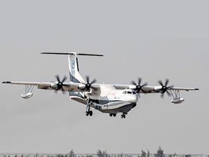 Çin, dünyanın en büyük deniz uçağını üretti