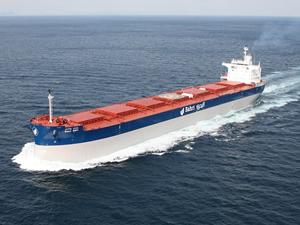 Hyundai, 'M/T Kassab'ı Bahri'ye teslim etti
