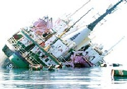 Karadeniz Ro-Ro gemisini yuttu