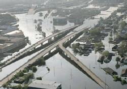 Katrina Kasırgası ABD'yi yıktı geçti