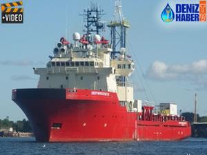 Ocean Investigator gemisi, Limasol Limanı'na ulaştı