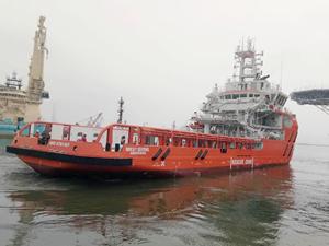 Sentinel, 'BISCAY SENTINEL' gemisini teslim aldı