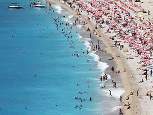 Antalya'ya gelen turist sayısı 2018'de arttı