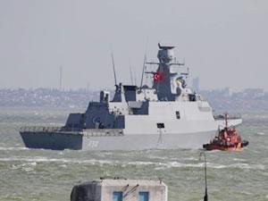 Türk savaş gemileri, Varna Limanı'na ulaştı