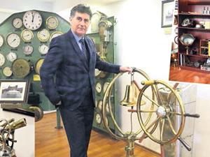 Tuzla'daki Denizcilik Müzesi'nde 200 parça eşya sergileniyor
