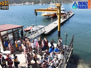 Fethiye'de tekne battı ihbarına Sahil Güvenlik yetişti