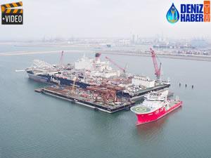 Türk Akımı'nın ilk hattı 10 Mayıs'tan önce tamamlanıyor