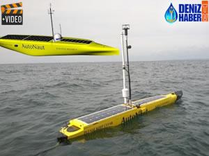 'AutoNaut' isimli tekne, dalga enerjisiyle ilerliyor