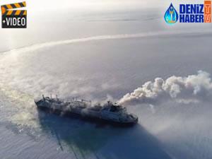 M/T VLADIMIR RUSANOV, LNG operasyonlarına başladı