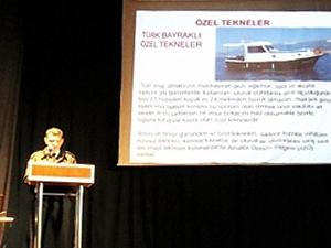 Sahil Güvenlik, Bursa'da tekne sahiplerini bilgilendirdi