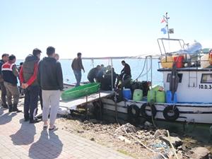 Balıkesir''de vurgun yiyen balıkçı kurtarılamadı