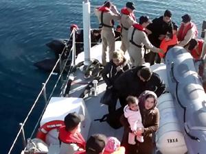 Sahil Güvenlik, Bodrum'da 39 kaçak göçmen yakaladı
