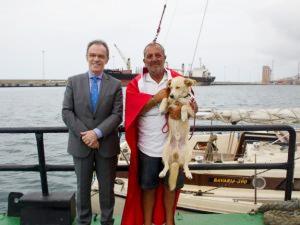 Dünya turuna çıkan Türk denizci Venezuela'dan uğurlandı