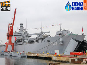 TGC Sancaktar, Deniz Kuvvetleri'ne teslim edildi