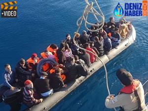 Ege'de 3 ayda 4 bin 214 kaçak göçmen yakalandı