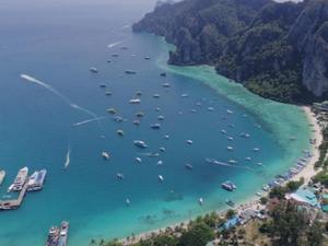 'Koh Phi Phi' plajı ziyarete kapatılıyor