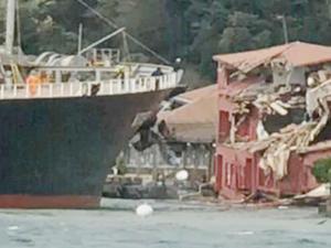 Tarihi yalıya çarpan gemiye 50 milyon dolarlık haciz talebi!