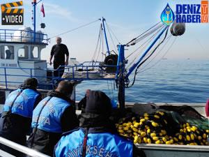Marmara Denizi'nde kaçak midye avcılarına operasyon yapıldı
