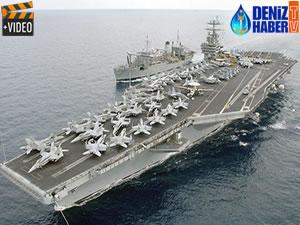 ABD, USS Harry Truman uçak gemisi ve 7 savaş gemisini Akdeniz'e sevk etti