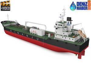 Singapur'un ilk çift yakıtlı LNG tankeri inşa ediliyor