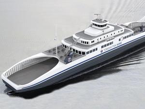 Tersan, Torghatten Nord'a inşa ettiği feribotu suya indiriyor