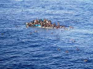 Ege açıklarında 70 kaçak göçmen yakalandı