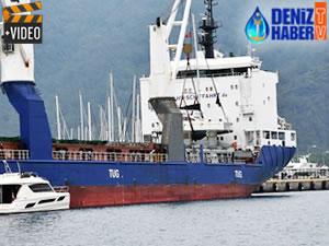 Marmaris'te yatlar kargo gemisiyle geliyor