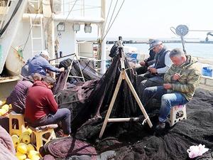 Gurbetteki balıkçılar eve dönmeye hazırlanıyor