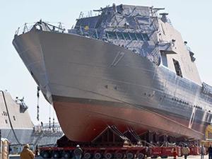 'USS INDIANAPOLIS'e isim verme töreni düzenledi