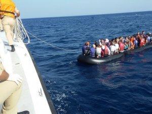 İzmir'de 126 kaçak göçmen yakalandı