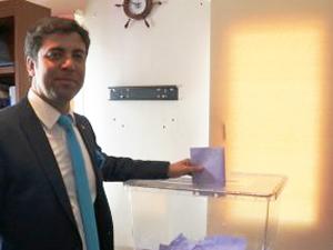 """İMEAK DTO Bodrum Şubesi Seçim sonucu YSK Kararı ile """"Mavi"""" oldu"""