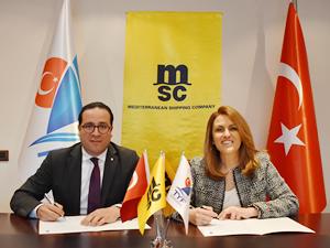 MSC, Türkiye Yelken Federasyonu'nun lojistik sponsoru oldu