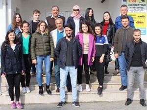 Avrasya Üniversitesi öğrencileri HOPAPORT'u ziyaret etti