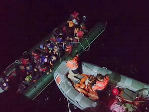 Çanakkale'de 36 kaçak göçmen yakalandı
