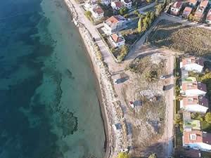Dardanos'ta plaj yapımı için çalışmalar başladı