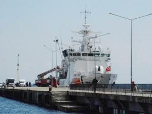 TCSG Dost, Sinop Limanı'nda halkın ziyaretine açıldı