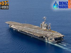 USS Harry Truman gemisinin Akdeniz'de kalacağı iddia edildi