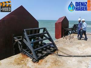 Filistinli mühendisler, deniz dalgasından elektrik üretiyor