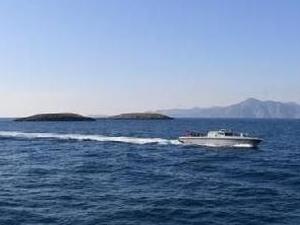 Kardak'a gitmek isteyen Yunan gazeteciye Sahil Güvenlik engeli
