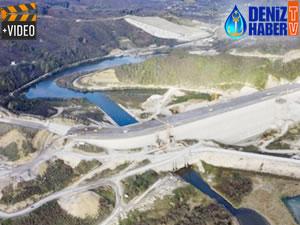 Melen Barajı'nın yüzde 95'i tamamlandı
