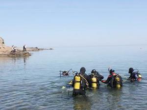 'En Uzun Süre Soğuk Denizde Yaşama' rekoru denemesi başladı